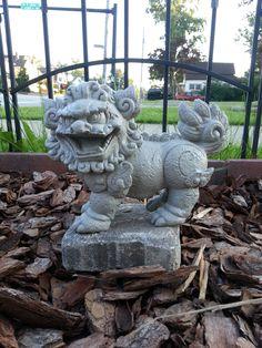 Oriental Lion Statues