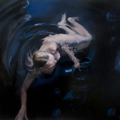 """Henrik Uldalen; Oil, Painting """"""""Bloom"""""""""""
