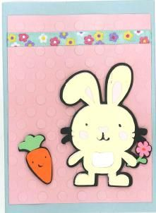 Easter Card Cricut Create a Critter
