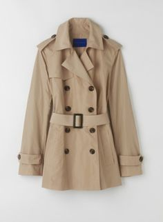 Todays Coveted Working Look: Winser Short Trench