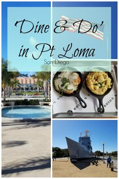 A wonder day's worth of activities to do in the beautiful San Diego neighborhood of Point Loma, with your family or a couple's date! #ptloma #libertystation #sandiego #california