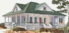 Inlet Retreat - Allison Ramsey Architects, Inc. | Coastal Living House Plans