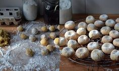 A quick recipe for Italian soft almond biscuits from Rachel Roddy — the guardian Gf Recipes, Quick Recipes, Quick Meals, Italian Recipes, Sweet Recipes, Baking Recipes, Italian Foods, Italian Desserts, Italian Almond Biscuits