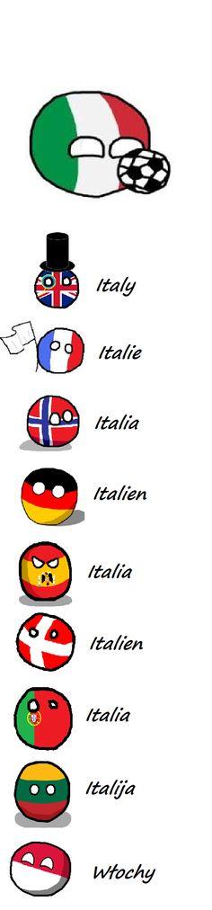 Italy<--- Aww Poland ball~ | < gay 165° https://de.pinterest.com/lynnlitung/polandball/