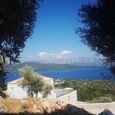 Luxury Villa, Good Morning, Greece, Relax, Island, Mountains, Amazing, Nature, Summer