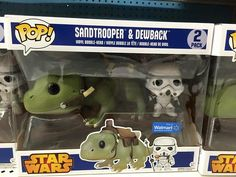 Star Wars Sandtrooper and Dewback Two Pack on Patrol!