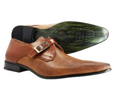Men's Dress Shoes Majestic Slip On Loafer Leather Lined Italian Tan Style #MajesticCollection #LoafersSlipOns