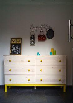 Baju-Baju-Marysiowe: Ikea Tarva dresser hack
