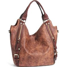 Shop a great selection of JOYSON Women Handbags Hobo Shoulder Bags Tote PU  Leather Handbags Fashion Large Capacity Bags. Find new offer and Similar  products ... 3dd4ba1e7b5e5