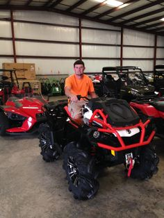 Thanks to Eddie Lamparski from Bush LA for getting a 2016 Can-Am Outlander Xmr 850 at Hattiesburg Cycles