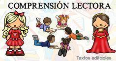 20 TEXTOS breves PARA COMPRENSION LECTORA editables WORD -Orientacion Andujar