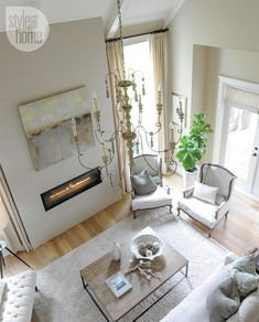 Interior: Open-space living room {PHOTO: Tracey Ayton}