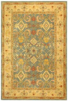 Safavieh exhibits old world sophistication and quality in their tufted rugs from the Anatolia Collection. These rugs have an authentic look and feel of the decorative rugs made in the late 19th century. The Anatolia rugs are made using hand spun...