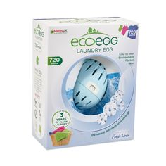 720 Fresh Linen Laundry Eco Egg Right