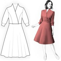 New sewing clothes women coats ideas Sewing Clothes Women, Clothes For Women, Simple Dresses, Short Dresses, Dress Outfits, Fashion Dresses, Maxi Dresses, Most Beautiful Dresses, Awesome Dresses