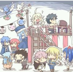 Fairy tail| Okay....this is so freaking adorable and we can see the ship's jerza nalu gajevy