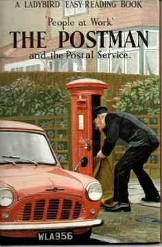 THE POSTMAN Vintage Ladybird Book People at Work Series 606B First Edition Matt Hardback 1965