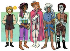 Mudando o sexo dos personagens Disney | Just Lia