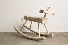 Robot Monkey Rocking Horse from Monroe Workshop
