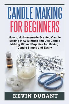 Candle Making At Home, Candle Making For Beginners, Candle Making Business, Soy Candle Making, Diy Candles Easy, Buy Candles, Homemade Scented Candles, Candle Making Supplies, Making Ideas