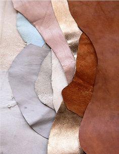 layers of leather texture Textures Patterns, Color Patterns, Color Combos, Color Schemes, Metallic Look, Metallic Leather, Textiles, Design Textile, Design Art