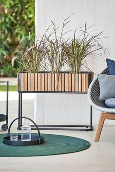 Our selection of modern planters encompasses a range of inspiring designs from respected brands, like Ferm Living, Vondom, and Loll Designs—and includes an eclectic collection of vessels for your favorite flowers and greenery. New Bedroom Design, Outdoor Carpet, Rectangular, Teak, Rectangular Planters, Teak Furniture, Modern Flower, Planter Stand, Outdoor Furniture Sets