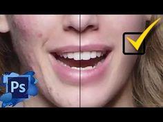 Piel perfecta al instante con Photoshop - YouTube