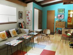 Like the color and feel of this room