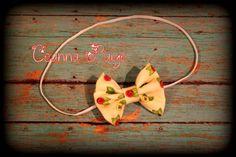tan hair bow headband fabric bow hair bow headband by CeannaPaige Fabric Bow Headband, Fabric Bows, Newborn Headbands, Trendy Baby, Hair Bows, Unique Jewelry, Handmade Gifts, Etsy, Ribbon Hair Ties
