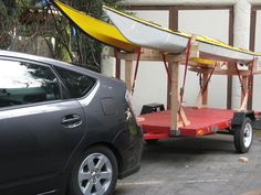 kayak trailer | trailer and put on either the stake sides or the kayak ...