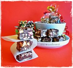 Rocky Road_cubetti golosi al cioccolato_Natale