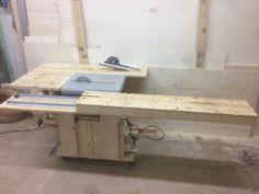 Formattisch / Schiebeschlitten / Sliding Table Mafell Erika 60e