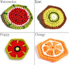 I found an old pictures of fruit/flower motifs , they looks so yummy for me today (it is rainy outdoors almost for a week here) :)        ...