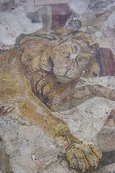 Roman Mosaic Pompeii 1st century CE