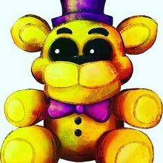 golden freddy teddy