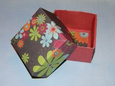 How to make a small gift box, complete