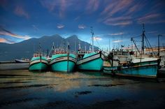Hout Bay Boats by Selwyn Schneider at workART