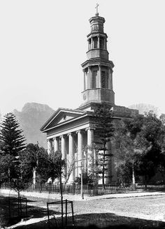 St. George's Cathedral | HiltonT | Flickr Old Pictures, Old Photos, Vintage Photos, Old Time Religion, St George's, Desert Life, Cape Town South Africa, Most Beautiful Cities, Old Buildings