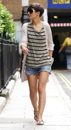 short hair stylish outfit - Szukaj w Google