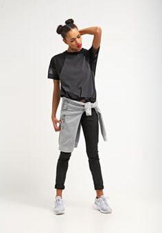Nike Sportswear - T-Shirt print - black/black/black