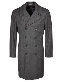 Michael Kors coat.Classic wool coat by Michael Kors.High-quality crafted.Straight cut, perfect to wear over suits,Double-breasted,Classic, understated and elegant $389