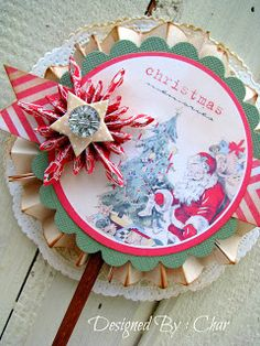 Expresstions of me!  The snowflake is a Tim Holtz die.