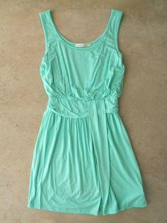 Sweet Mint Dress | A Summer Staple <3 #summermint #summerdresses