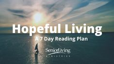 I finished the Hopeful Living Bible reading plan from @YouVersion! Check it out here:
