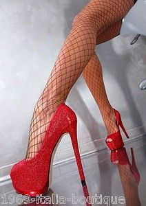 stiletto high heel pumps | ... -DAMEN-PLATEAU-SUPER-SEXY-RED-STILETTO-HIGH-HEELS-PUMPS-SCHUHE-ROT