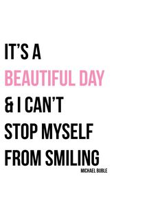 Beautiful Day - Michael Bublé