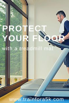 A treadmill is a large investment, but you do not want to let your new treadmill ruin your existing floor. Use a treadmill mat to protect your carpet or laminate flooring. Jogging For Beginners, Running Plan, Running For Beginners, Running Tips, Running On Treadmill, Laminate Flooring Colors, Wood Repair, Winter Running