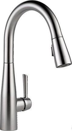 $160 at Home Depot - Delta Faucet 9113-AR-DST Essa Single Handle Pull-Down Kit…