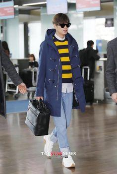 이민호(Lee Min Ho) - 이민호, 남다른 기럭지의 '공항 패션' 선보여… '여심(女心)' 올킬 - HD Photo News - TopStarNews.Net