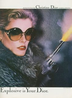 Chris von Wangenheim, Photography for the Dior campaign, 1977-79. Agency: Lord, Geller, Federico Einstein Inc. Source 1+2+3 / Design is fine. History is mine.
